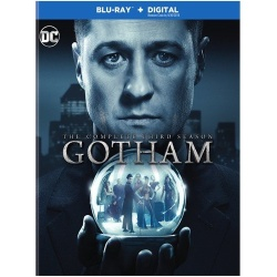 Gotham: The Complete 3rd Season Blu-ray Cover