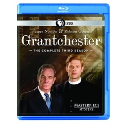 Grantchester: The Complete 3rd Season Blu-ray Cover