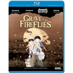 Grave of the Fireflies Blu-ray Cover