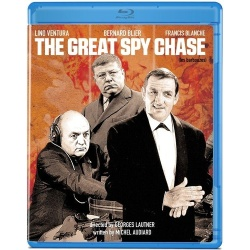 Great Spy Chase Blu-ray Cover