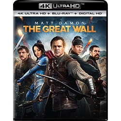 Great Wall Blu-ray Cover