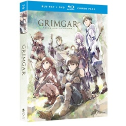 Grimgar: Ashes & Illusions: The Complete Series Blu-ray Cover