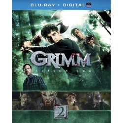Grimm: Season 2 Blu-ray Cover