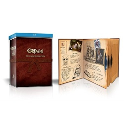 Grimm: The Complete Collection Blu-ray Cover