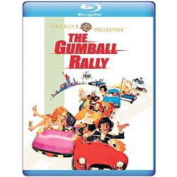 Gumball Rally Blu-ray Cover