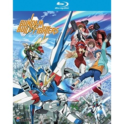 Gundam Build Fighters Blu-ray Cover
