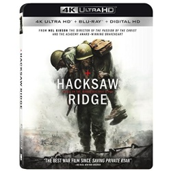 Hacksaw Ridge Blu-ray Cover