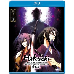 Hakuoki: Season 3 Blu-ray Cover