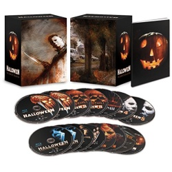 Halloween: The Complete Collection Blu-ray Cover