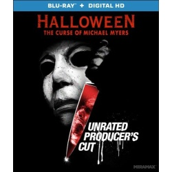 Halloween: The Curse of Michael Myers Blu-ray Cover