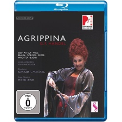 Handel: Agrippina Blu-ray Cover