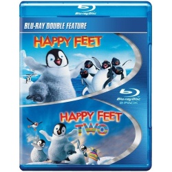 Happy Feet / Happy Feet Two Blu-ray Cover