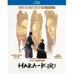 Hara-Kiri: Death of a Samurai Blu-ray Cover