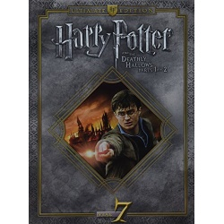 Harry Potter And The Deathly Hallows: Parts 1 & 2 (Ultimate Edition) Blu-ray Cover