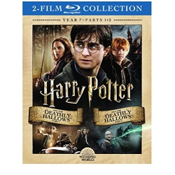Harry Potter: Year 7 - Part 1 & 2 Blu-ray Cover