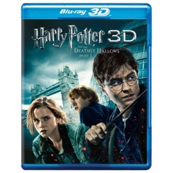 Harry Potter and the Deathly Hallows: Part 1 3D Blu-ray Cover