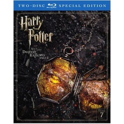 Harry Potter and the Deathly Hallows: Part 1 Blu-ray Cover