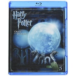 Harry Potter and the Order of the Phoenix Blu-ray Cover