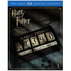 Harry Potter and the Prisoner of Azkaban Blu-ray Cover