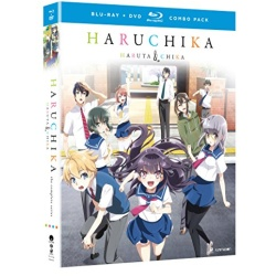 Haruchika: Haruta & Chika Blu-ray Cover