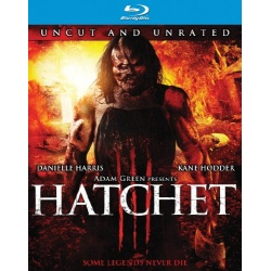 Hatchet III Blu-ray Cover
