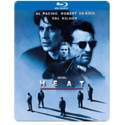 Heat (Steelbook) Blu-ray Cover