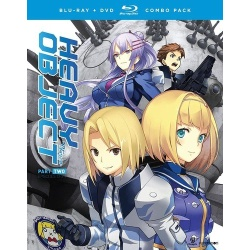 Heavy Object: Season 1 - Part 2 Blu-ray Cover