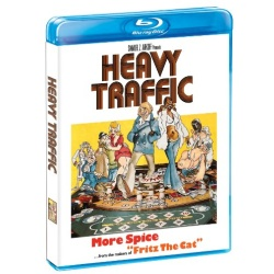 Heavy Traffic Blu-ray Cover