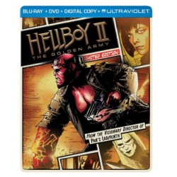 Hellboy II: The Golden Army Blu-ray Cover