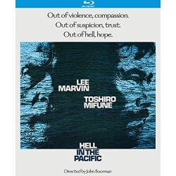 Hell in the Pacific Blu-ray Cover