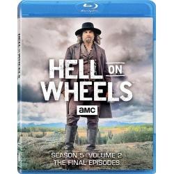 Hell on Wheels: Season 5 - Volune 2 Blu-ray Cover