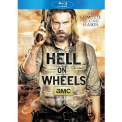 Hell on Wheels: The Complete 2nd Season Blu-ray Cover