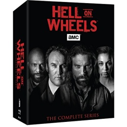 Hell on Wheels: The Complete Series Blu-ray Cover