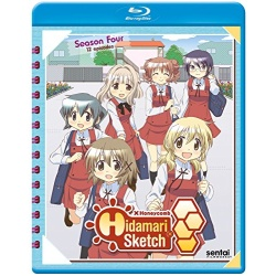 Hidamari Sketch x Honeycomb Blu-ray Cover