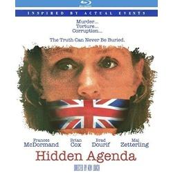 Hidden Agenda Blu-ray Cover