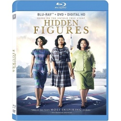Hidden Figures Blu-ray Cover