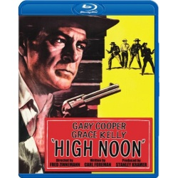 High Noon Blu-ray Cover