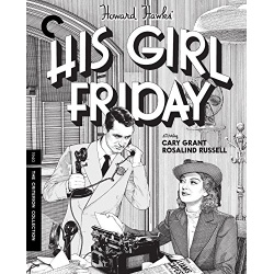 His Girl Friday Blu-ray Cover