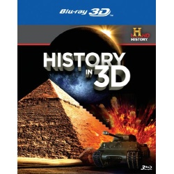 History in 3D Blu-ray Cover