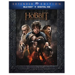 The Hobbit Battle of the Five Armies Extended Edition Blu-ray