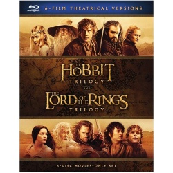 Hobbit Triolgy / The Lord of the Rings Trilogy Blu-ray Cover