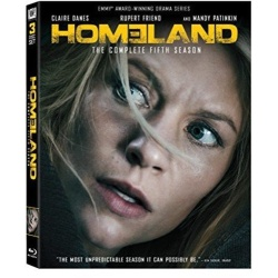 Homeland: The Complete 5th Season Blu-ray Cover
