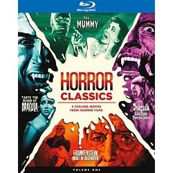 Horror Classics: Volume One Blu-ray Cover