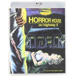 Horror House on Highway 5 Blu-ray Cover