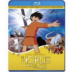Horus, Prince of the Sun Blu-ray Cover