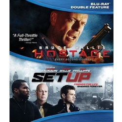 Hostage / Set Up Blu-ray Cover