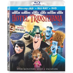 Hotel Transylvania in 3D Blu-ray Cover