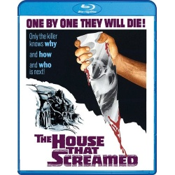 House That Screamed Blu-ray Cover