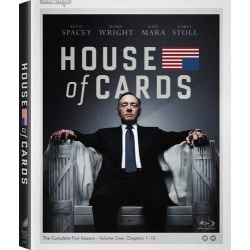 House of Cards: The Complete 1st Season Blu-ray Cover