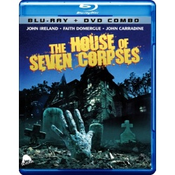 House of Seven Corpses Blu-ray Cover